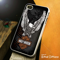 Harley davidson logo iPhone 4 5 5c 6 Plus Case, Samsung Galaxy S3 S4 S5 Note 3 4 Case, iPod 4 5 Case, HtC One M7 M8 and Nexus Case