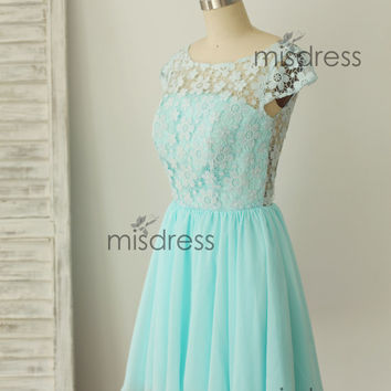 Best Mint Lace Bridesmaid Dress Products on Wanelo