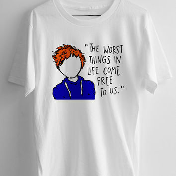 Ed Sheeran The A Team Lyric Cartoon T-shirt Men, women and Youth