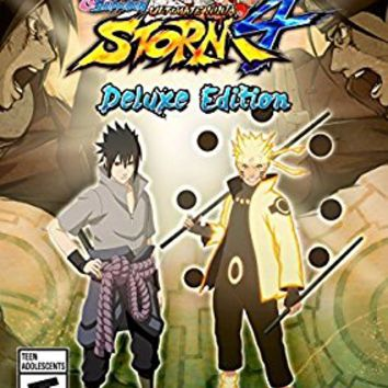 NARUTO SHIPPUDEN: Ultimate Ninja STORM 4 Deluxe Edition [Online Game Code]