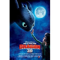 How to Train Your Dragon 27x40 Movie Poster (2010)
