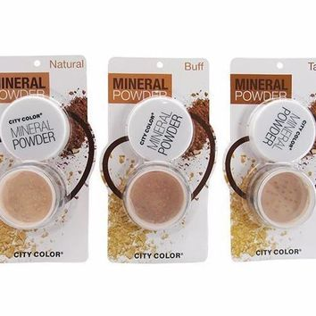 City Color Loose Mineral Powder