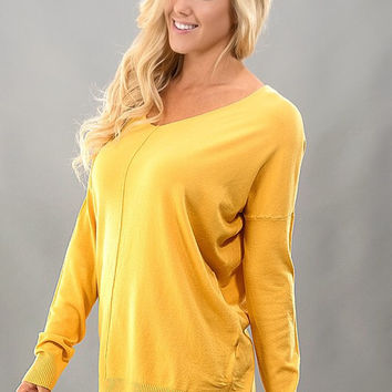 Soft Touch Sweater - Yellow