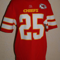 NFL TEAM APPAREL Kansas City Chiefs Jersey #25 Jamaal Charles Size Medium NWT
