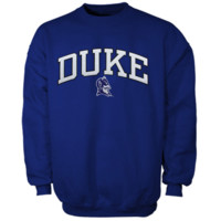 Duke Blue Devils Duke Blue Arch Logo Sweatshirt