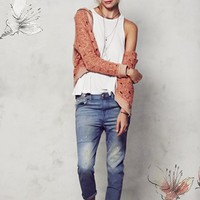 Free People Cardigan, Tank & Jeans | Nordstrom