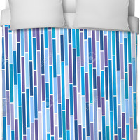 Vertical Lines Bed Spread