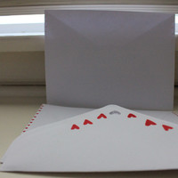 heart envelopes  from petrichor