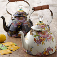 Flower Market Three-Quart Tea Kettle - MacKenzie-Childs