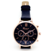 Classic color strap watch (4 colors)
