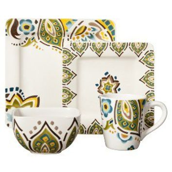 Threshold™ 16 Piece Kashmir Dinnerware Set