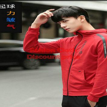 Mens Adidas Sweater Hoodies 2018 Spring Clothes L-4XL 776868 Red