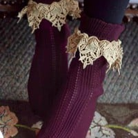Lavish Lace Socks