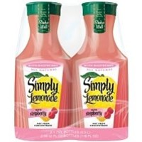 Simply Lemonade With Raspberry Twin Pack - 2/59oz Bottles
