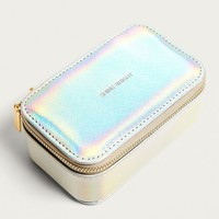 Estella Bartlett Shine Bright Iridescent Jewellery Travel Case | Urban Outfitters