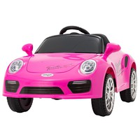 Uenjoy Kids Ride on Cars 6v Battery Power Kids Electric Vehicles with Wheels Suspension, Music,Remote Control,Headlights ...