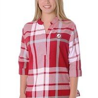 Alabama Crimson Tide Women's Plaid Tunic | BAMA Women's Plaid Tunic | Alabama Plaid Tunic