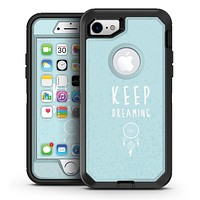 Keep Dreaming Dreamcatcher - iPhone 7 or 7 Plus OtterBox Defender Case Skin Decal Kit