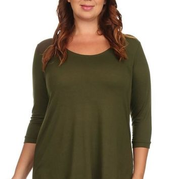 A Simple Life Top + Olive