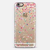 Colorful Confetti Party Explosion Transparent iPhone 6 case by Organic Saturation | Casetify