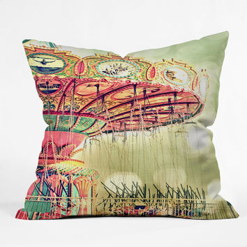 Shannon Clark Carnival Dreams Throw Pillow