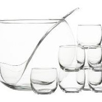 10-Piece Punch Bowl Set | Crate&Barrel