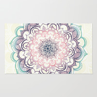 Mermaid Medallion Rug by Tangerine-Tane