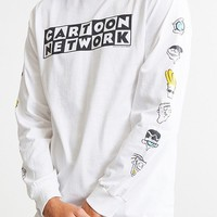 Cartoon Network Logo Head Long Sleeve Tee | Urban Outfitters