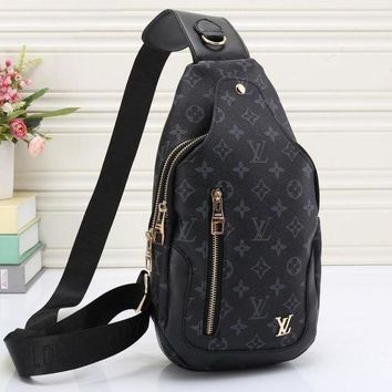 PEAPUP0 LV Women Leather Backpack Bookbag Daypack Satchel