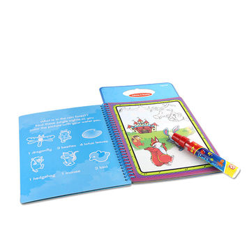 Water Drawing Book with Magic Pen