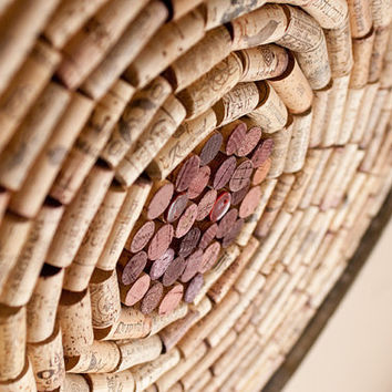 Wine Cork Bulletin Board, Made-to-Order