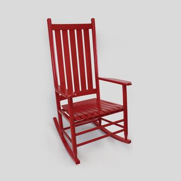 Dixie Seating Co. Asheville Wood Rocking Chair No. 907S - Ships within  2 to 4 Weeks