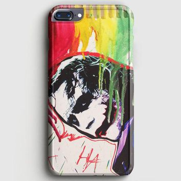 The Joker Paint Art iPhone 7 Plus Case