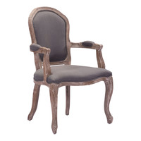 Hyde Dining Chair Charcoal Gray