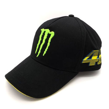 Valentino Rossi Monster Energy Italy Flag VR46 GP Cap Official 2015