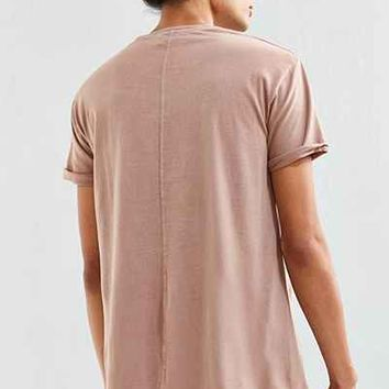 Feathers Center Seam Long Tee - Urban Outfitters