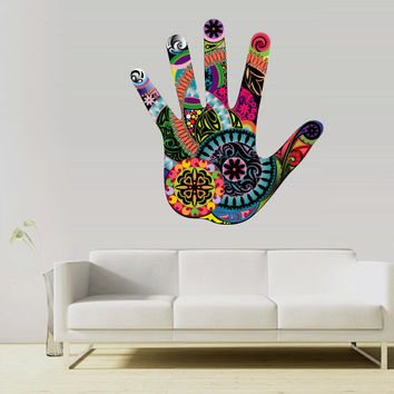Full Color Full Color Wall Decal Mural Sticker Bedroom Living Room Poster Decor Art Hands Ornament (Col679)