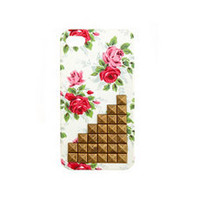 Studded Floral IPhone 4 Case: Charlotte Russe