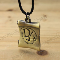 Harry potter necklaces, charm necklace, dumbledore's army, the best gift