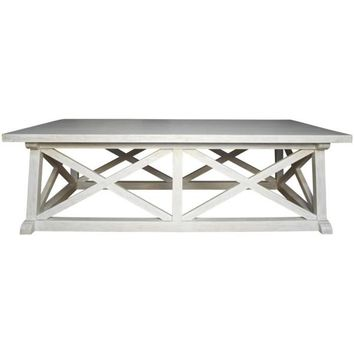 Lakota Coffee Table, White Wash