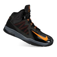 Nike Black Air Max Sutterstep Grade School Boy's Basketball Shoes
