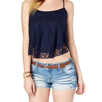 Graced with Lace Swing Tank
