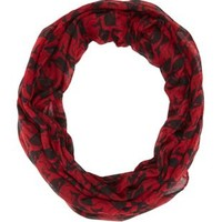 Animal Print Infinity Scarf by Charlotte Russe