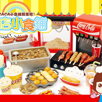 Buy Orcara Store Canteen Caca Food Shop Miniature Set at Tofu Cute