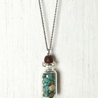 Trapped In A Bottle Necklace at Free People Clothing Boutique