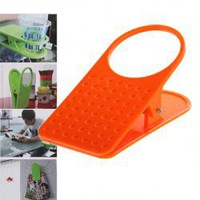 Creative Table Side Cup Holder Beverage Keeper for Shool Office Home (Red) China Wholesale - Everbuying.com