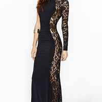 Unforgettable Lace Maxi Dress
