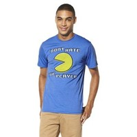 Men's Pac-Man Player Hater Graphic Tee - Blue