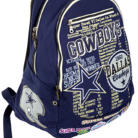 Dallas Cowboys Historic NFL Book Bag
