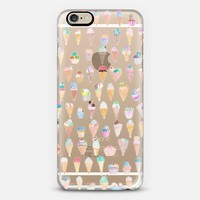 Transparent Ice Cream iPhone 6 case by Zuhre | Casetify